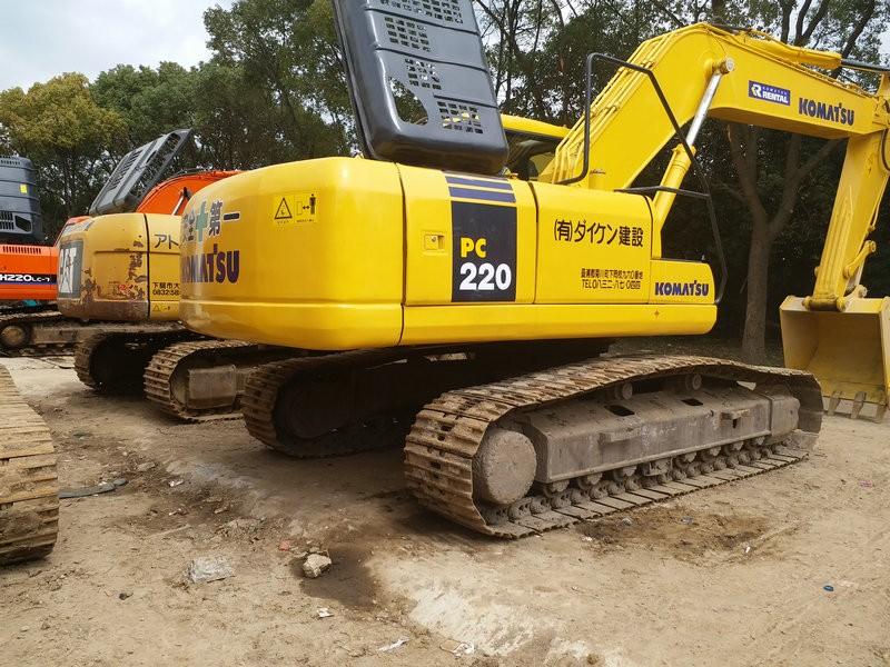 售卖优质二手的小松挖掘机120出售