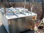 食品加工大豆加工用腐竹油皮机蒸汽式防干锅的豆皮机
