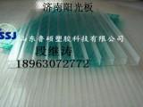 商河阳光板耐力板,厂家直销,质保10年,温室车棚雨棚用