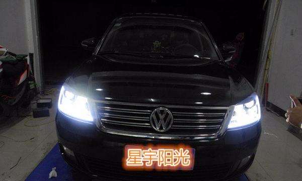 南宁LED双光透镜改装,LED大灯,进口光源高清图片