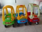 批发儿童小房车脚力滑行玩具车 四轮踏行童车幼儿园可坐房车