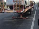 北京汽車救援拖車收費 電動汽車救援拖車 箱貨拖車公司