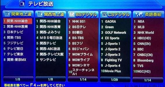 办理各种日本网络电视到期缴费续费业务