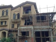 北京房山区阎村别墅加建 加建别墅二层 现浇别墅楼板