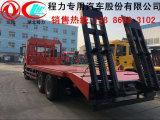 齐齐哈尔市 解放小三轴挖掘机平板车 13886863102