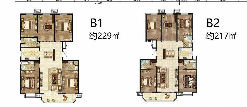 秀兰绿荫里 4室大平层洋房首开 高端社区 可贷款 成熟配