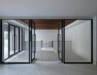 天津市感应玻璃门安装 玻璃门维修更换地弹簧