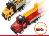 惯性玩具车 惯性消防车 模型惯性车 厂家批发 地摊玩具车