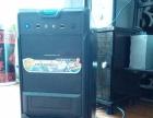 品牌二手台式电脑,自用换新的了,液晶显示器,全套580元