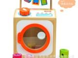 仿真洗衣机玩具 木制儿童益智玩具宝宝玩具1-3