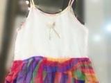厂家直销100% 桑蚕丝儿童可爱背心裙