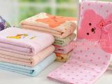 加厚柔软纯棉童被 正方形儿童毛巾被 婴儿家纺 幼儿园毛毯子浴巾