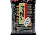 日本进口零食 代发 龟田海苔卷 日式紫菜卷 米菓 单独包装11枚