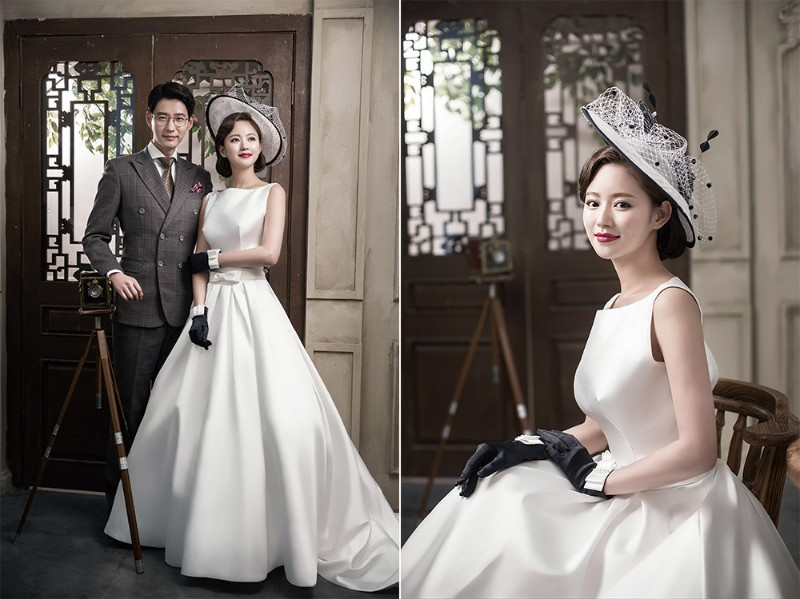 新郎端着新娘婚纱_当新郎看到新娘穿著婚纱出现的一瞬间