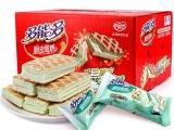 金冠多能多脆皮蛋糕早餐小面包零食品班兰味整箱小糕点心1.5kg装