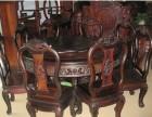 台州红酸枝木家具回收 五件套红木家具回收