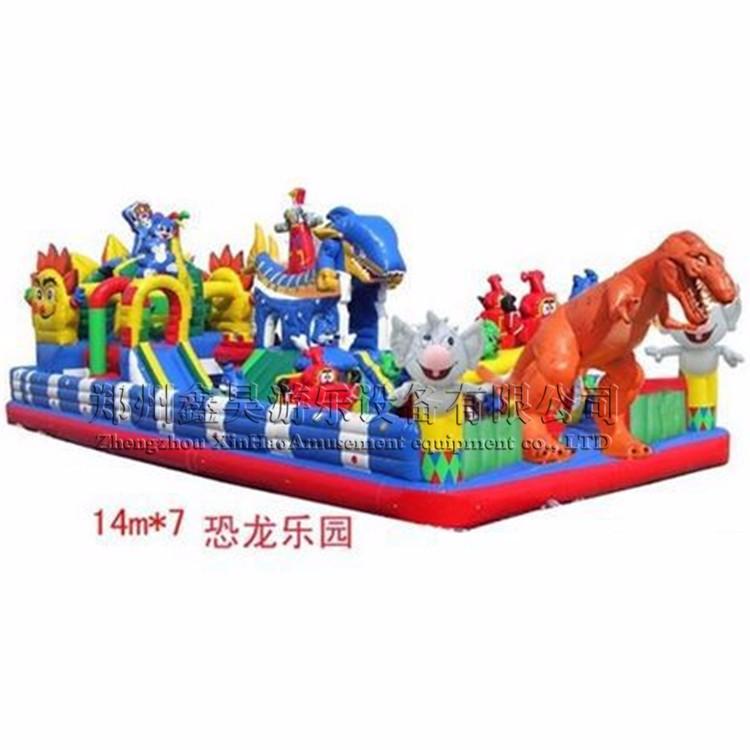 新款充气蹦蹦床幼儿园跳床儿童攀岩城堡大型游乐设备
