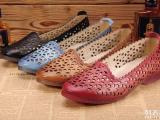 广州女鞋鞋厂批发外贸休闲复古舒适头层牛皮女士皮鞋时尚女式单鞋
