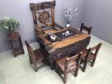 厂家直销老船木茶桌椅组合实木茶桌茶台