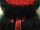 鲜花花卉 手工玫瑰,各种礼盒包装材料,