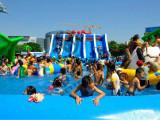 夏季嬉水狂歡嗨不停首選佰特移動水上樂園