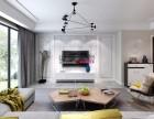 山水装饰集团设计华地紫园158平户型房子装修现代风格效果图