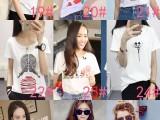 新款女装纯棉短袖白色T恤热销可选款厂家货源
