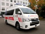 伊利120救护车长途转送病人出院回家-收费合理