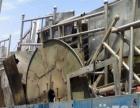 高价回收废铁钢材电缆铜铝白钢锅炉大罐
