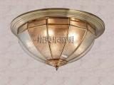 厂家批发全铜焊锡灯欧式全铜灯全铜吸顶灯焊锡吸顶灯圆形吸顶灯