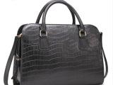 2014新款鳄鱼纹女包大包欧美时尚女单肩包手提包定型牛皮电脑包包