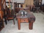 厂家直销老船木茶桌实木功夫茶几泡茶台沉船木个性装饰茶桌椅组合