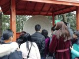锦州商场投放中华文化机器石来运转