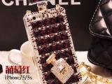 香水瓶最新款iPhone5手机壳手机套保护壳水钻4s外壳硅胶潮个