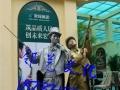河南活体雕塑铜人表演价格较低