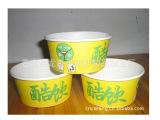 生产加工冰淇淋纸碗 一次性纸浆环保纸碗