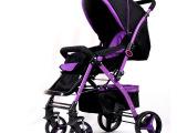 工厂直销婴儿推车高景观婴儿车避震双向可坐躺折叠四轮童车推车