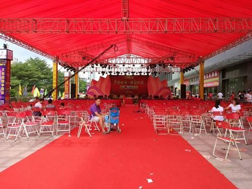 东莞松山湖舞台搭建出租 展会设计搭建 户外展览制作服务公司