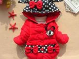 2014新款女童装冬装女童加厚棉衣外套女宝宝冬季棉袄婴儿小童棉服