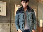 2013冬季男装新款 短款加厚羽绒棉衣 韩版休闲修身外套潮青年棉服
