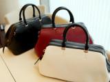 厂家直销韩版女包 潮流PU油皮手提包 时尚休闲包单肩斜跨包可定制