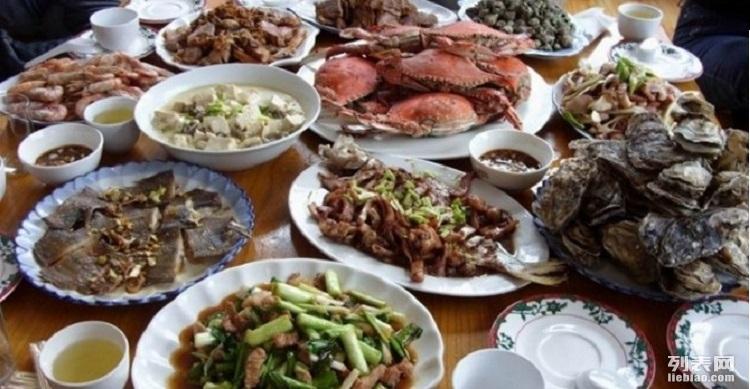 海景别墅农家院 独立卫浴标准间 青岛崂山农家乐 新鲜美味海鲜