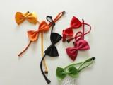 儿童多色领结 宝宝系带糖果色百搭小领结 领带