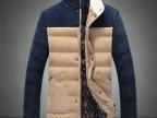 秋冬上新潮男式立领拼接色灯芯绒棉衣服袄户外保暖韩版百搭外套装