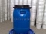 供应30升HDPE锁圈塑料包装桶