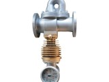 分流旋翼式蒸汽流量计 泊头仪表厂 现场直读式 机械式蒸汽表