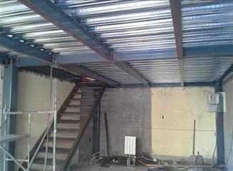太原许坦东街楼房加层焊接隔层加固焊接安装