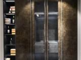 北京京派轻奢极简高光云石板橱柜衣柜大宅全屋定制门板视听衣帽间