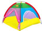 【热销】儿童户外便携式帐篷床 宝宝拼色益智过家家游戏屋