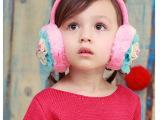 冬款 糖果色小清新卡通修饰防风防冻毛绒耳套 可爱女孩保暖耳罩
